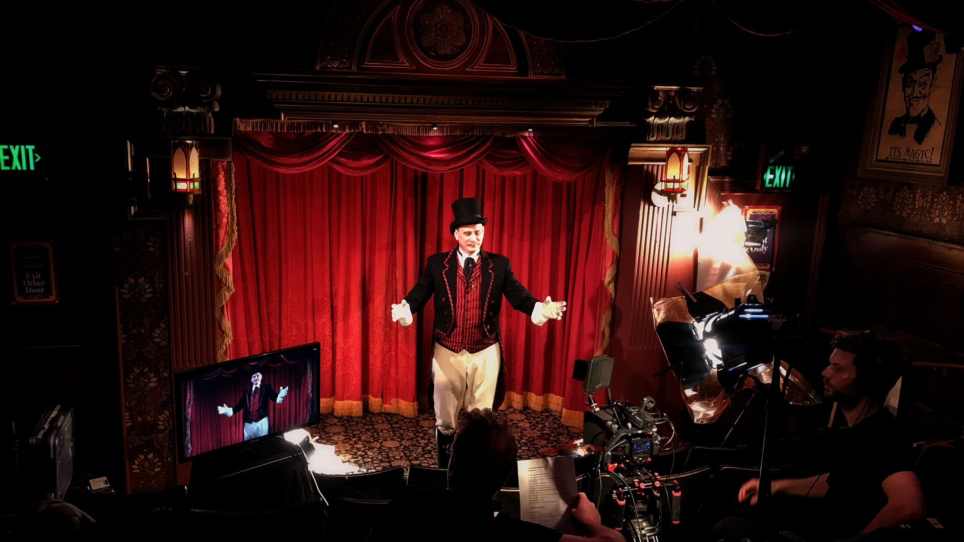 Circus 1903 David Williamson Filming Production Company