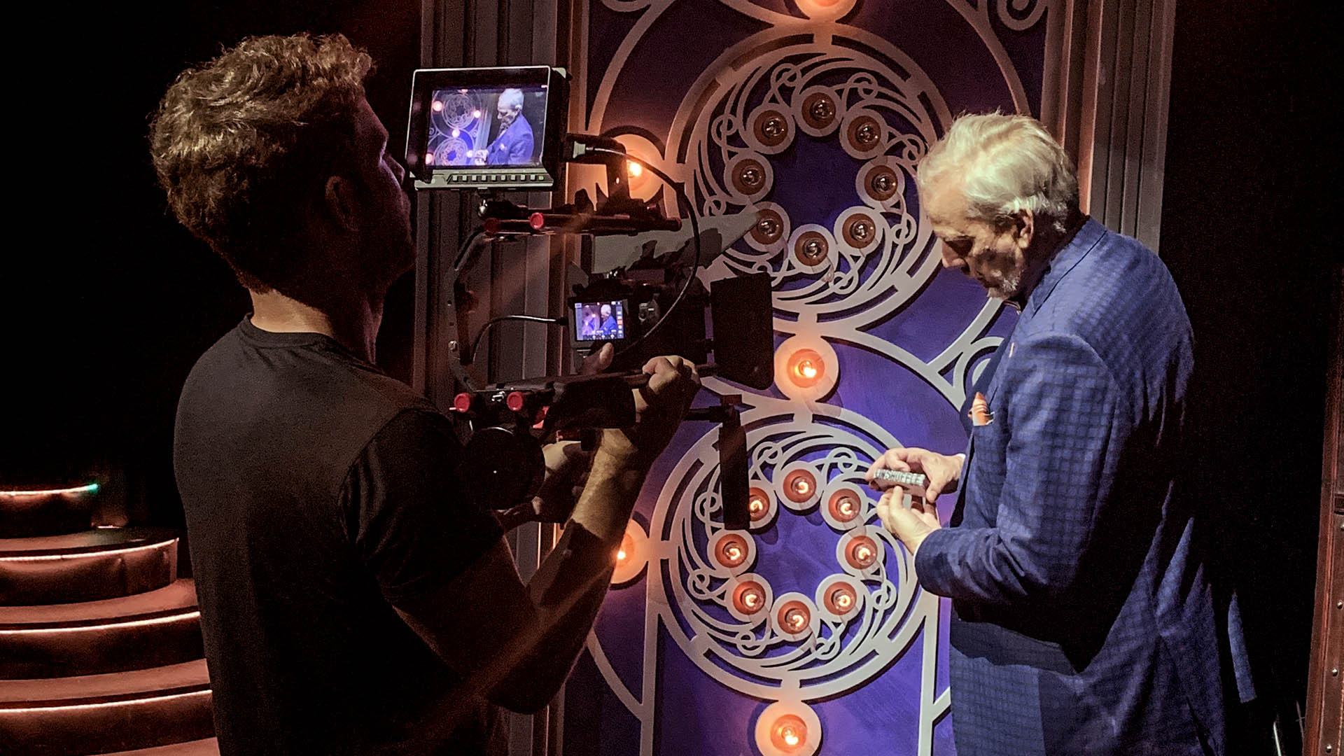 Creative Agency In Los Angeles For The Illusionists Filming David Williamson