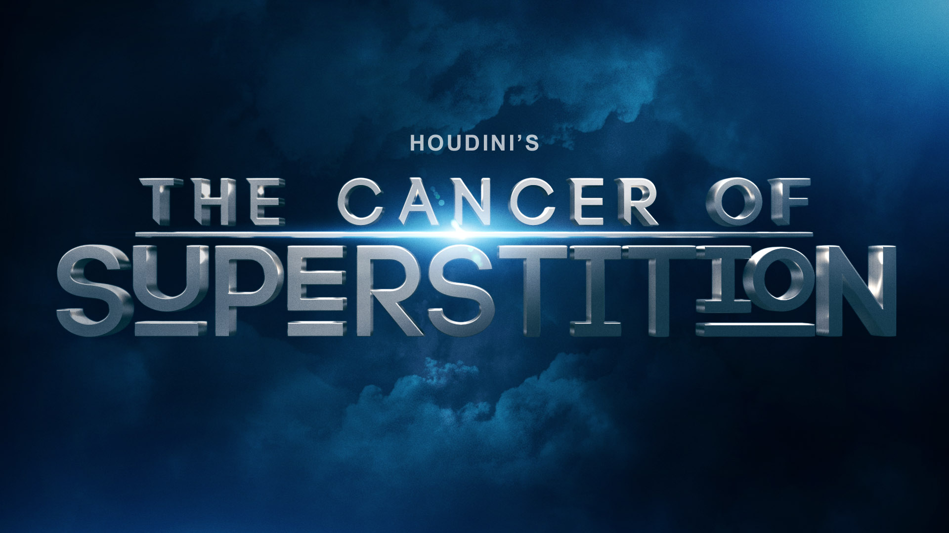 Harry Houdini's The Cancer Of Superstition